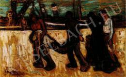 Egry József - A halott, 1911