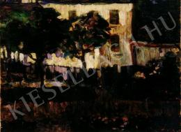 Egry József - Sárga ház, 1918 előtt