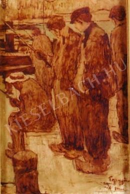 Egry József - Horgászok, 1906
