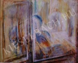Egry József - Ablakon kinéző nő