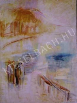 Egry József - Ősz az öbölben, 1938 körül