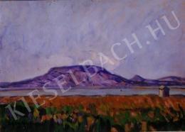 Egry József - Badacsonyi hegy, 1916