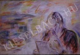 Egry József - Befejezetlen önarckép, 1950-51