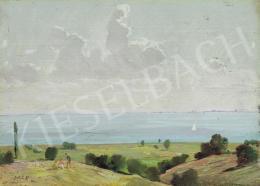 Molnár C. Pál - Balaton vitorlással