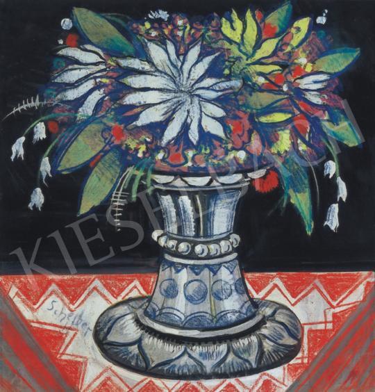 Scheiber, Hugó - Flower Still-Life | 34th Auction auction / 12 Item