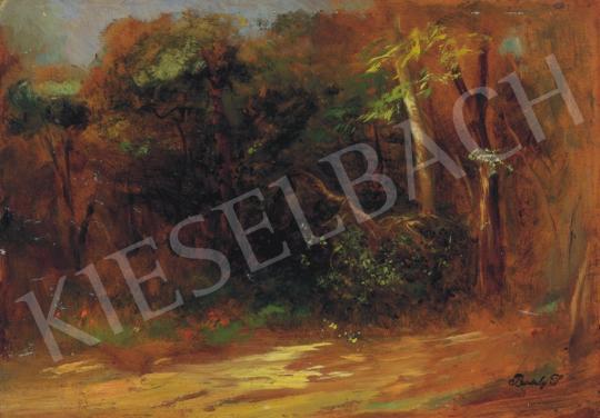 Brodszky, Sándor - Sunlit Forest Path | 34th Auction auction / 14 Item