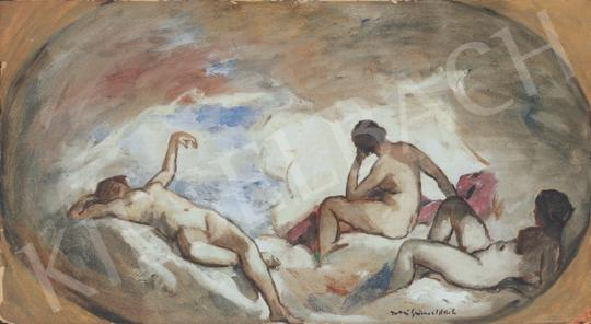 Iványi Grünwald, Béla - Nudes | 34th Auction auction / 16 Item
