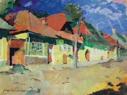 Nagy, Oszkár - Street in Felsőbánya, 1942