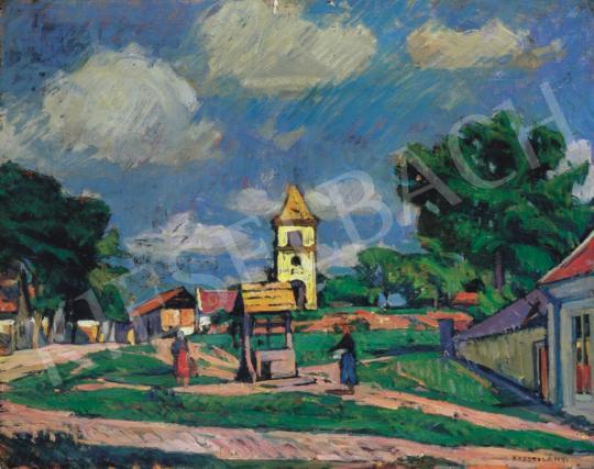 Kosztolányi Kann, Gyula - Small Town   34th Auction auction / 23 Item