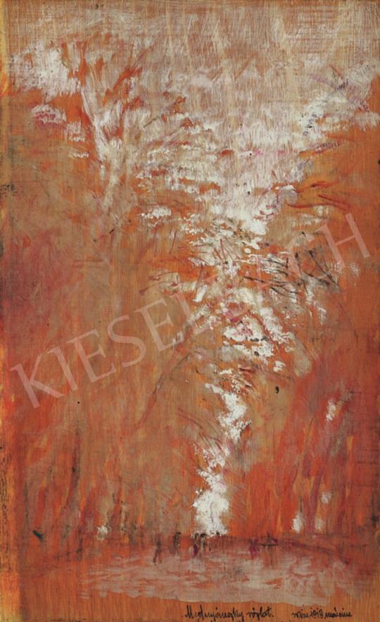 Mednyánszky, László - Tree Alley, Bécs, 1919 | 34th Auction auction / 25 Item