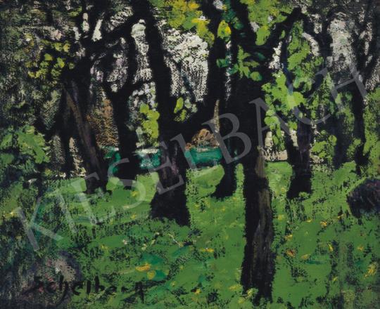 Scheiber, Hugó - Park (City Park), early 1920 | 34th Auction auction / 26 Item