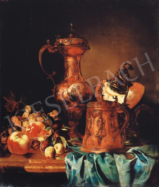 Schaffer, Adalbert - Still-Life with Fruit, 1851, Bécs   34th Auction auction / 31 Item