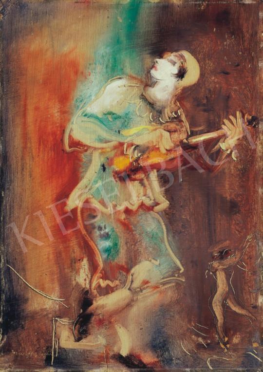 Márffy, Ödön - Musical Clown and Acrobat Girl (Clown) | 34th Auction auction / 34 Item