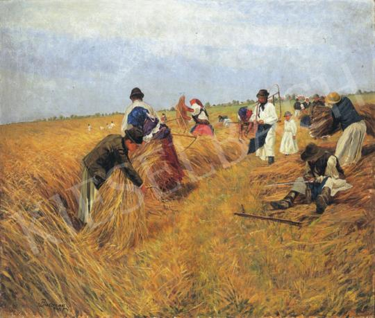 Bosznay, István - Harvest, 1895 | 34th Auction auction / 38 Item