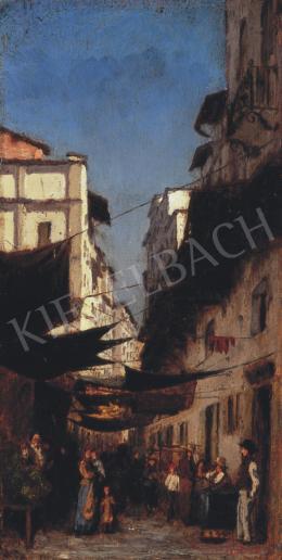Nádler Róbert - A régi piac Firenzében