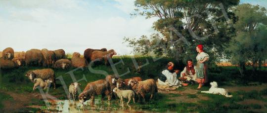 Pállik, Béla - At Noon, 1873 | 34th Auction auction / 40 Item