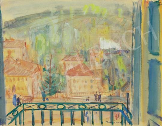 Márffy, Ödön - View from the Artist's Studio | 34th Auction auction / 47 Item