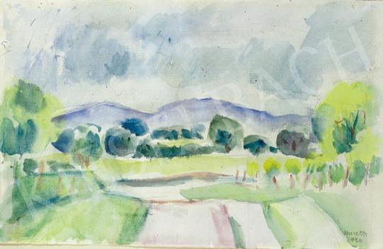 Kmetty, János - Blue Hills, 1940 | 34th Auction auction / 48 Item