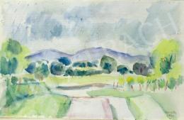 Kmetty, János - Blue Hills, 1940