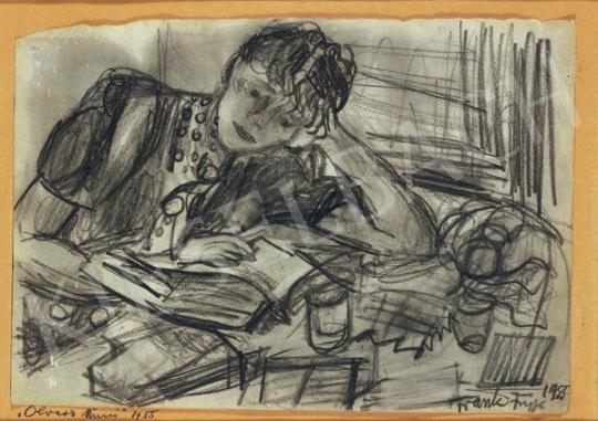 Frank Frigyes - Olvasó Mimi   34. Aukció aukció / 68 tétel