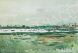 Bernáth Aurél - Vízparti táj