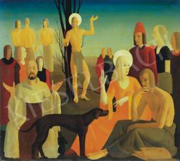 Kontuly Béla - Keresztelő Szent János prédikációja