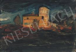 Gulácsy Lajos - Itáliai táj