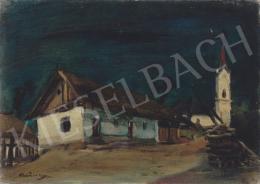 Rudnay, Gyula - Evening with Moonlight, 1920