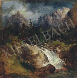 Brodszky Sándor - Vízesés a hegyek között