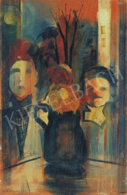 Farkas István - Sápadt volt (Nő és férfi ablakban)
