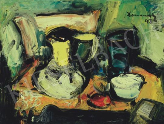 Domanovszky Endre - Csendélet, 1948 | 34. Aukció aukció / 165 tétel