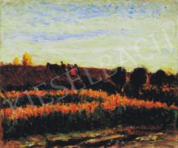 Koszta, József - Twilight in the Fields, 1910s
