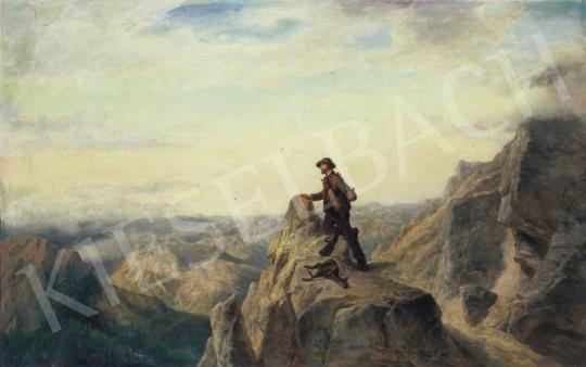 Telepy Károly - Vadász | 34. Aukció aukció / 173 tétel