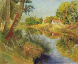 Szobotka, Imre - Landscape by the River