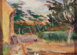 Tornyai János - Alkonyi kert