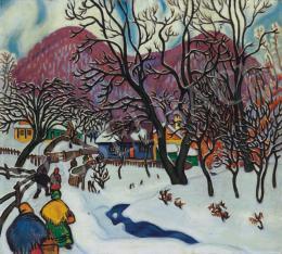 Boromisza Tibor - Nagybánya télen