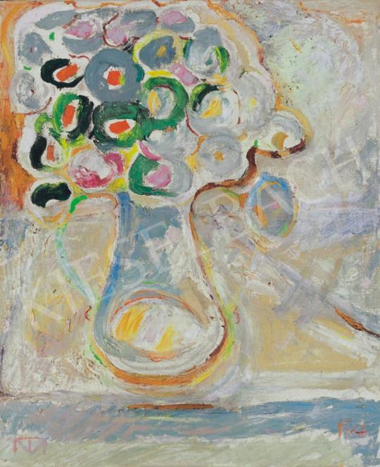 Tóth Menyhért - Csendélet (Cíneák vázában) | 34. Aukció aukció / 213 tétel