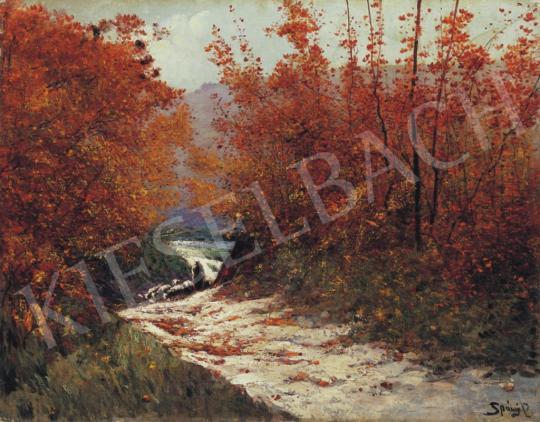 K. Spányi Béla - Őszi színek | 34. Aukció aukció / 226 tétel