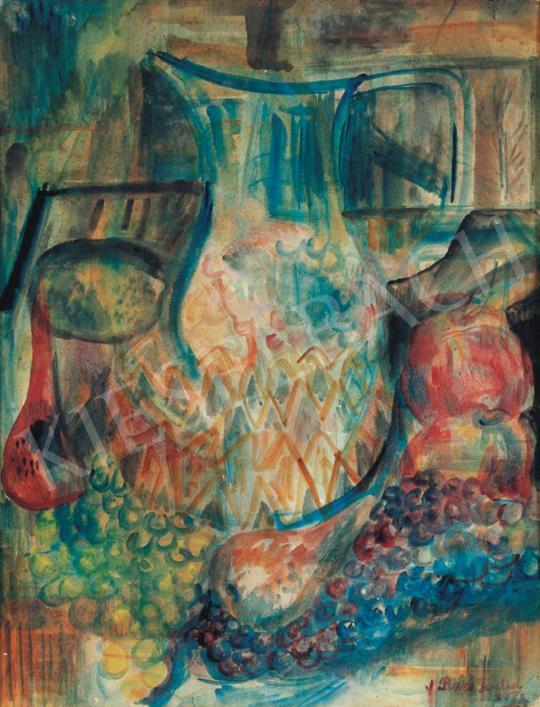 Paizs-Goebel Jenő - Csendélet gyümölcsökkel és kancsóval, 1933 | 34. Aukció aukció / 237 tétel