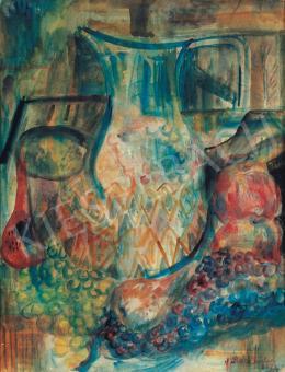 Paizs-Goebel Jenő - Csendélet gyümölcsökkel és kancsóval, 1933