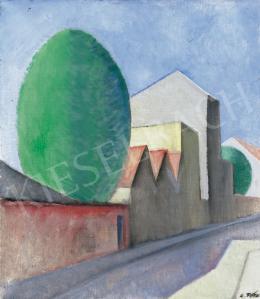 A. Tóth Sándor - Kubista táj, 1930 Párizs