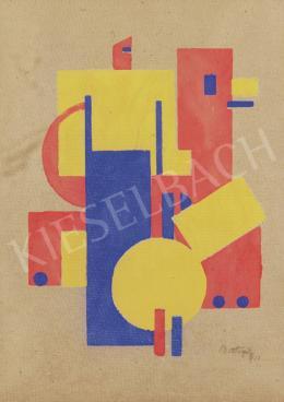 Bortnyik Sándor - MA, 1921