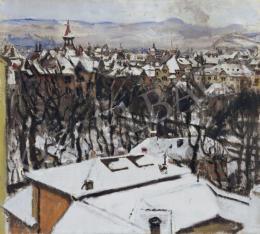 Csók István - Budapest télen, 1919