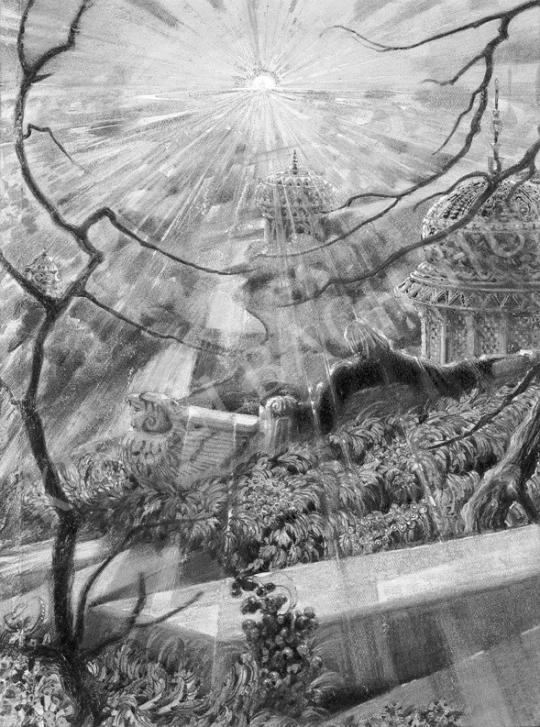 Jaschik Álmos - Aztékok utolsó királya | Fotó- és grafikai aukció aukció / 4 tétel