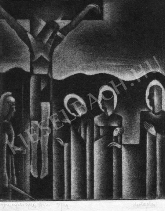 Gomogács, Béla - Christ on the Cross, 1934 | Auction of Photos and Works on Paper auction / 6 Item
