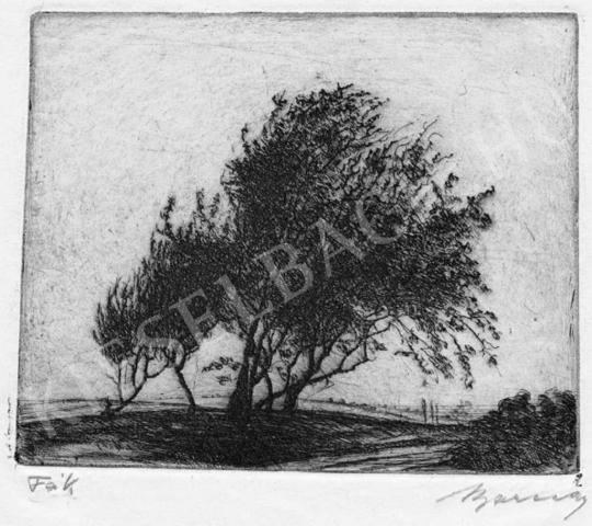 Barcsay, Jenő - Trees | Auction of Photos and Works on Paper auction / 10 Item