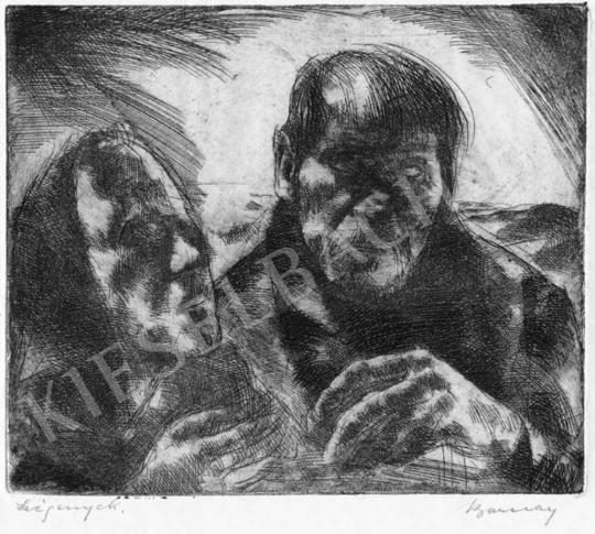 Barcsay, Jenő - Poor Couple | Auction of Photos and Works on Paper auction / 12 Item