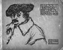 Rippl-Rónai József - Rippl-Rónai ötven rajza, 1913, Könyves Kálmán Műkiadó Rt. kiadása, Mappa 50 lappal