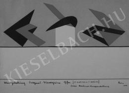 Péri László - Murális terv a Nagy Berlini Kiállítás számára, 1924/1960-as évek