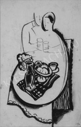 Kádár, Béla - Still Life on Table
